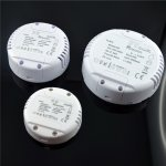 LED Trafo Schalterdosenmontage Phasecut dimmbar
