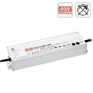 240 Watt MEANWELL LED Trafo 24V