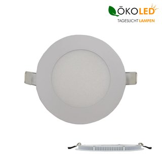 LED Panel Slim Ø 120 WW 8,8 Watt rund