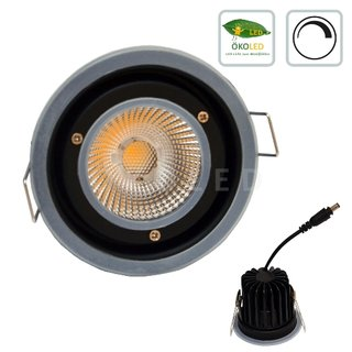 DALI Downlight EASY SWITCH, 700lm, 11,2W, WW, ohne Dekoring